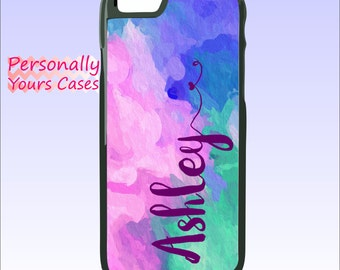 Personalized iPhone 6 Tough Case - Custom Phone Case - iPhone 6S Plus - iPhone 5C - 5/5S - Galaxy Note 5 - Note 4 Bright Colors