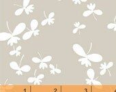 Mojito - Mist Gray Butterfly by MY-KT from Windham Fabrics