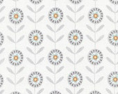 Lily - Flower White by Alice Kennedy from Timeless Treasures