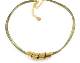 Spiral pendant, delicate coil pendant, delicate gold necklace, gold necklace, short gold necklace, urban necklace, gold urban necklace