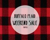 WEEKEND SALE Buffalo Plaid Crib Sheet, Baby Boy or Baby Girl, Flannel, Gingham, Toddler Bedding, Custom design, Nursery Decor