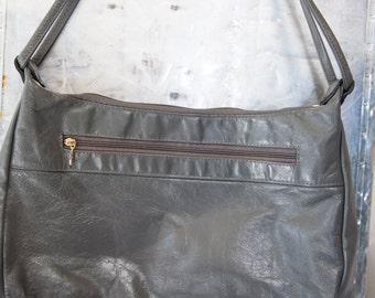 Vintage SAS Grey Purse