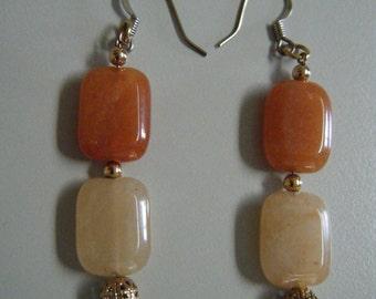 Red Aventurine Earrings