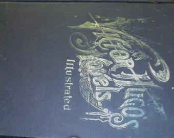 Victor Hugo's Novels Illustrated Volume IV Rare Antique Hardcover Book