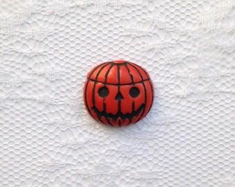 Jack-o-Lantern Pumpkin Halloween Fall Lapel Pin