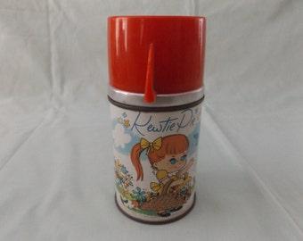 Vintage Metal Thermos / Kewtie Pie / 60's / Aladdin