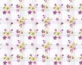 Fat eighth Haxby B 1930s style Liberty of London, pink and lime Liberty print