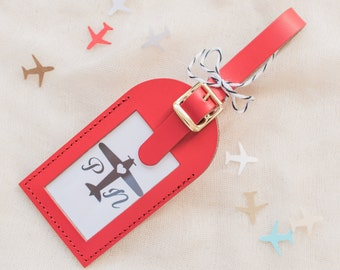 Wedding Favors - For the Love of Travel Luggage Tags