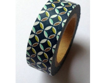 Rounder - Japanese Washi Masking Tape - 11 yards