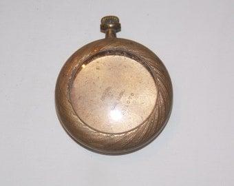 Gold Antique 35mm  Pocket Watch Case
