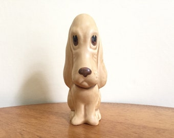 Sylvac Dog Figurine - Bloodhound Dog Art - Vintage Dog - Gift for Dog Lover - Brown Glaze