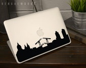 Amsterdam Skyline MacBook Decal 1 | Macbook Sticker | Laptop Decal | Laptop Sticker | Car Sticker