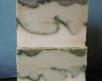 Green Tea Spirulina Soap {Vegan} All Natural Handmade Soap | 3oz