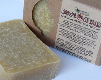 Natural Bugs Away Handcrafted Lye Soap