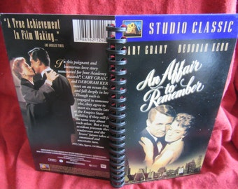 An Affair to Remember VHS Tape Box Notebook