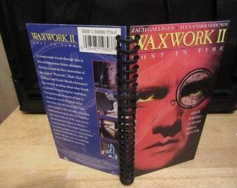 Waxwork II VHS notebook