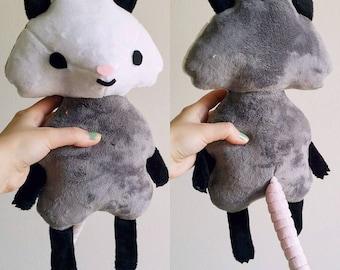 Cute Opossum Plush Toy Doll