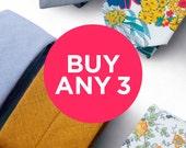 Buy any 3 ties
