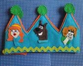 Scooby Doo and gang  Kids Crown, Birthday crown, custom crowns