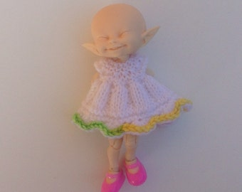 Knitted Dress for Fairyland Realpuki