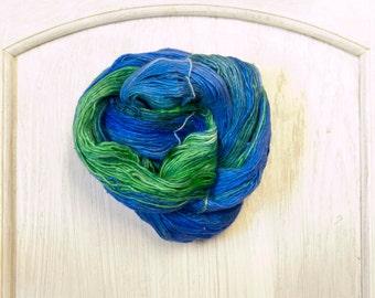 Silk Thread in Tropical Lagoon
