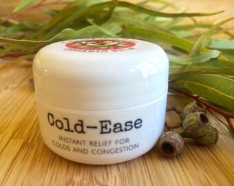 Cold-Ease Organic Balm (Cold Remedy Balm Ease Congestion) 1/2 oz.