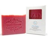 Black Cherry Merlot Soap Handmade Luxury Soap with Organic Shea Butter