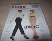Burda Pleated Pants Pattern, burda Sewing Pattern 4444, Pantalon Pattern, Hose Pattern, Sewing Pattern, Sewing Supplies