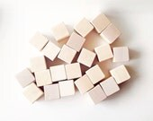 Wooden blocks. Bare. Natural Wood for crafting. DIY. Wooden block. Baby Shower. Crafts. party ideas. Alphabet blocks. Nude. PLAIN wood.