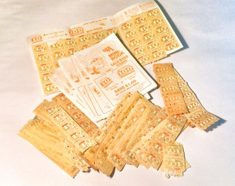 Vintage lot of Gold Country USA sagings stamps.