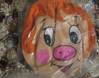Vintage Midcentury BLOW Up Mint In Package Inflatable Miss PIGGY