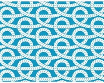 Nautical Knots Rug Flooring Background or Floor Drop Photo Prop