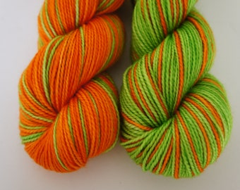 O'Malley...Twisted Sisters, Self Striping, 80/20 Superwash Fingering Sock Weight