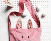 Childs bunny ears messenger bag