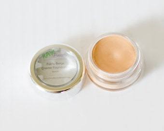 Natural Cosmetics, Cream Foundation, Natural Makeup, Mineral Foundation, Cream Concealer