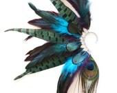 Feather Ear Cuff, Feather Ear Wrap, Feather Earrings, Festival, Festival Ear Cuff