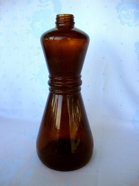 Crisco bottle old bottles brown amber buried bottle