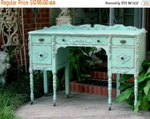 15% OFF Order Your Own BEAUTIFUL Custom ANTIQUE Desk! Hand Painted Reclaimed Restored Wood Shabby Chic Painted Lady's Desk