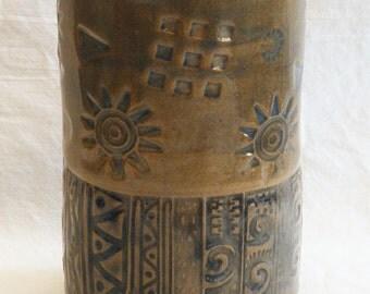 artisan tumbler 16oz ceramic tumbler mug T16A010