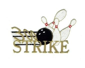 300 Strike Bowling Patch X American Deadstock