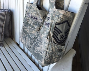 Custom  Bags  --Made from your uniform--  The Grace Bag