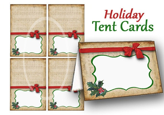 Wild image throughout printable tent card