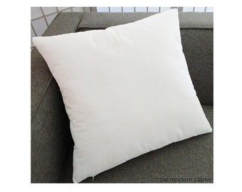 White Velvet Solid Decorative Throw Pillow Cover / Pillow Case / Cushion Cover /20x20""