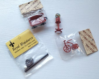 Lot of Miniature Toys