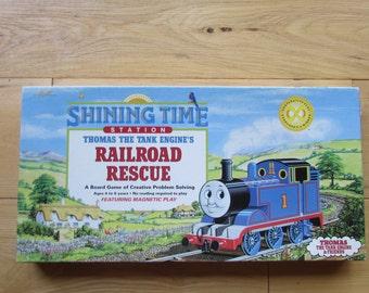 Railroad Rescue 1991 Thomas the Tank Board Game