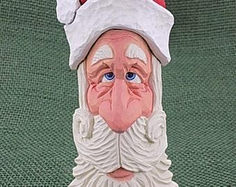 Whimsical Santa Ornament/Shelf Sitter