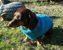 Tweenie Dachshund Sweater Pattern