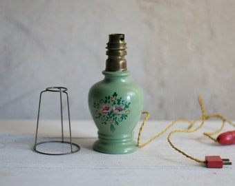 French Table Lamp // 1960 French Desk Lamp