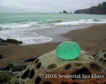 11 x 14 Beach Sea Glass Art Print Photo Print-Navarro