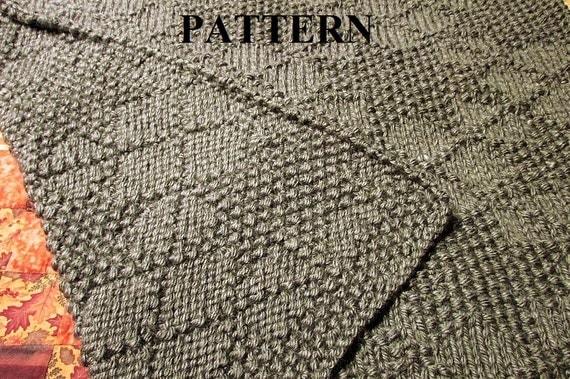 Knitting Pattern Baby Blanket, Knit Baby Blanket Pattern, Knitting Pattern, C...